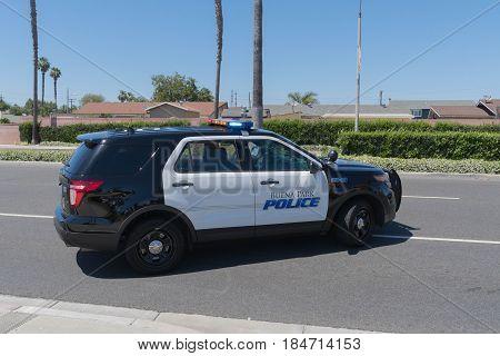 Buena Park Police Closes The Street