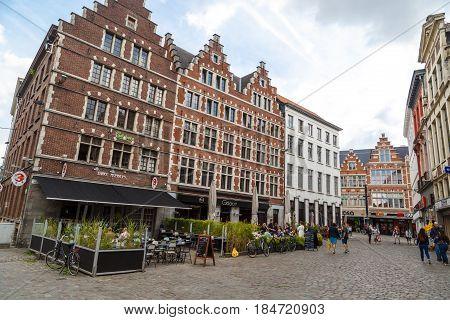 Ghent Streets In Belgium