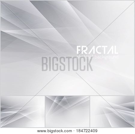 Fractal abstract background series. Low poly vector background series suitable for design element and web background