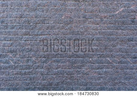 Background Of The Blue-grey Brick Wall