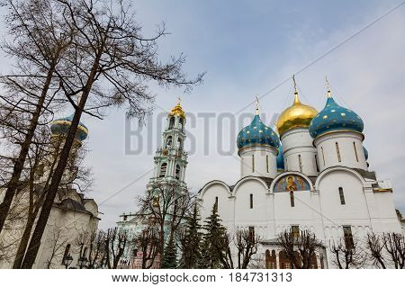 Architecture Of The Holy Trinity Saint-sergius Lavra