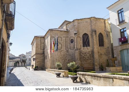 Old Church of St. Peter Ubeda Spain