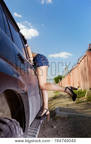 Girl Hitchhiker