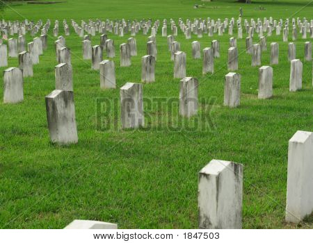 Civil War Gravestones