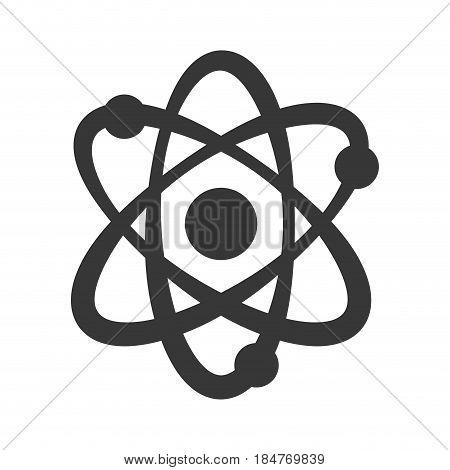 Atom molecule symbol icon vector illustration graphic design