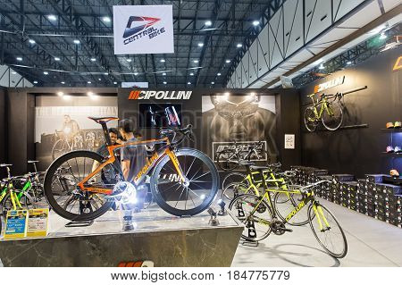 Bangkok,thailand,4 May 2017:international Bangkok Bike 2017. Largest Cycling Bike Expo In Thailand,t