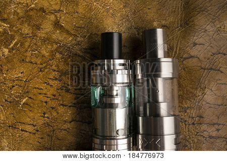 E Cigarette Vaping Device With Tools For Vaping Shops.