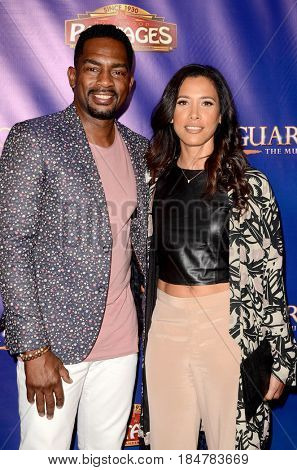LOS ANGELES - MAY 2:  Bill Bellamy, wife at the
