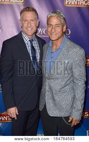 LOS ANGELES - MAY 2:  Johnny Chaillot, Greg Louganis at the