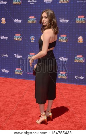 LOS ANGELES - APR 29:  Bailey Bryan at the 2017 Radio Disney Music Awards at the Microsoft Theater on April 29, 2017 in Los Angeles, CA