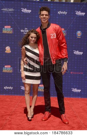 LOS ANGELES - APR 29:  Madison Pettis, Guest at the 2017 Radio Disney Music Awards at the Microsoft Theater on April 29, 2017 in Los Angeles, CA