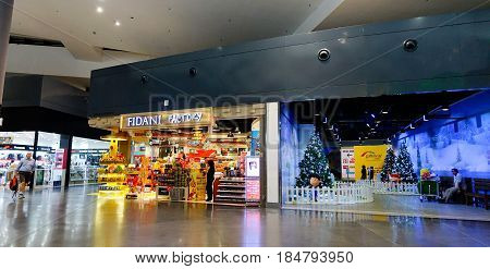 International Airport In Kuala Lumpur, Malaysia