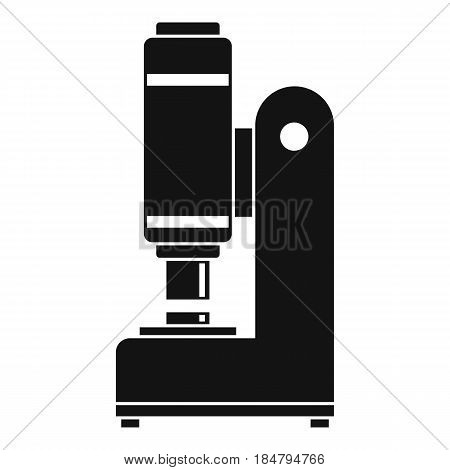 Blacksmith automatic hammer icon in simple style isolated vector illustration