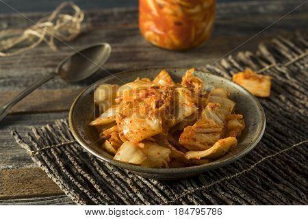 Homemade Spicy Fermented Korean Kimchi