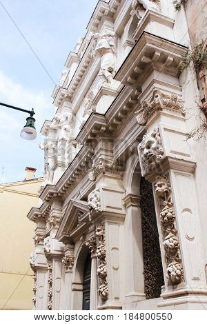 Church of the Ospedaletto, Church of Santa Maria dei Derelitti , Venice , Veneto , Italy .