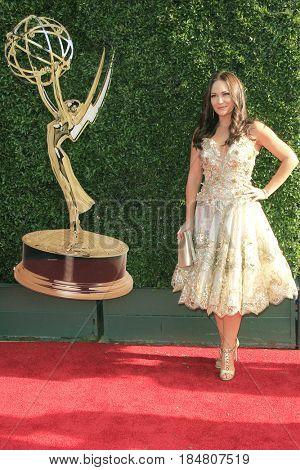 PASADENA - APR 28: Jade Harlow at the 44th Daytime Creative Arts Emmy Awards Gala at the Pasadena Civic Centerl on April 28, 2017 in Pasadena, California