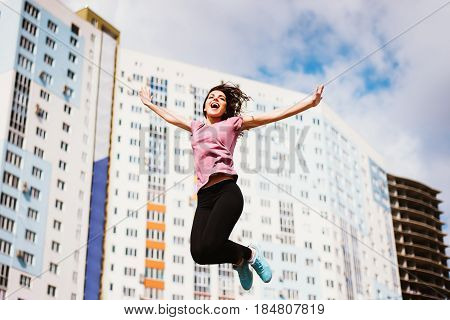 The Girl Won An Apartment In The Lottery