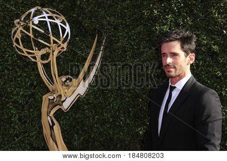 PASADENA - APR 28: Brandon Beemer at the 44th Daytime Creative Arts Emmy Awards Gala at the Pasadena Civic Centerl on April 28, 2017 in Pasadena, California
