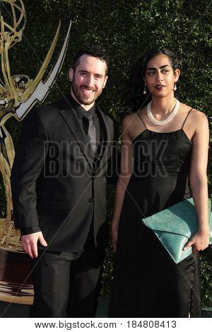 PASADENA - APR 28: Noah Siegel at the 44th Daytime Creative Arts Emmy Awards Gala at the Pasadena Civic Centerl on April 28, 2017 in Pasadena, California