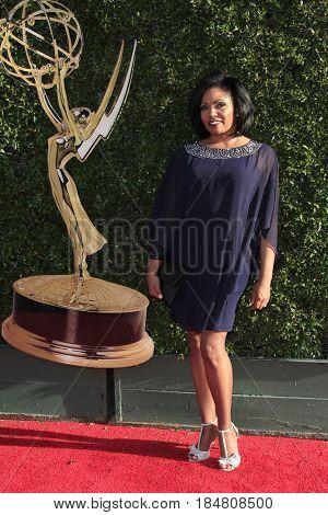 PASADENA - APR 28: Vanita Harbour at the 44th Daytime Creative Arts Emmy Awards Gala at the Pasadena Civic Centerl on April 28, 2017 in Pasadena, California