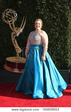 PASADENA - APR 28: Liz Roelands at the 44th Daytime Creative Arts Emmy Awards Gala at the Pasadena Civic Center on April 28, 2017 in Pasadena, California