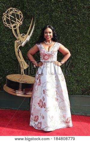 PASADENA - APR 28: Lauren Lake at the 44th Daytime Creative Arts Emmy Awards Gala at the Pasadena Civic Center on April 28, 2017 in Pasadena, California