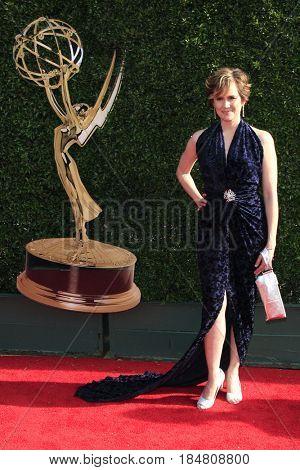 PASADENA - APR 28: Natalia Livingston at the 44th Daytime Creative Arts Emmy Awards Gala at the Pasadena Civic Center on April 28, 2017 in Pasadena, California