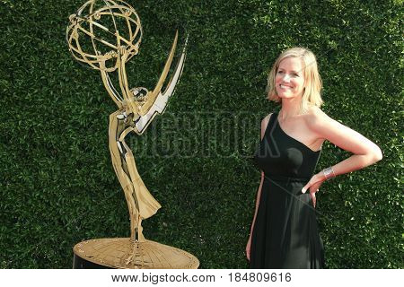 PASADENA - APR 28: Katie Herzig at the 44th Daytime Creative Arts Emmy Awards Gala at the Pasadena Civic Center on April 28, 2017 in Pasadena, California