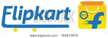 Vector Logo of Flipkart. Flipkart is an Indian market e-commerce website.