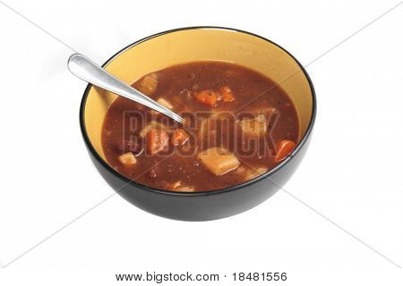 Beef Stew isolated