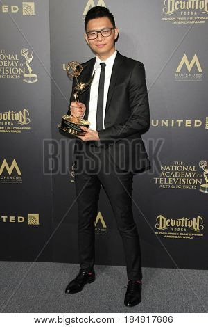 PASADENA - APR 28: Khang Le at the 44th Daytime Creative Arts Emmy Awards Gala at the Pasadena Civic Center on April 28, 2017 in Pasadena, CA