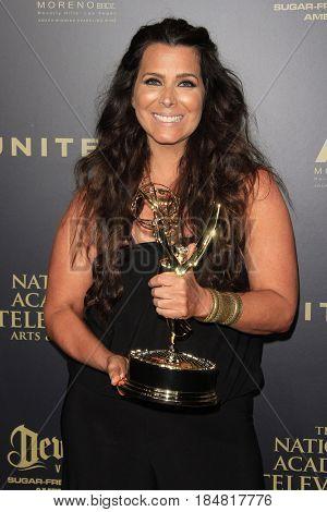 PASADENA - APR 28: Marnie Saitta at the 44th Daytime Creative Arts Emmy Awards Gala at the Pasadena Civic Center on April 28, 2017 in Pasadena, CA