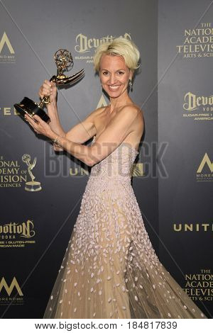 PASADENA - APR 28: Glenda Maddox at the 44th Daytime Creative Arts Emmy Awards Gala at the Pasadena Civic Center on April 28, 2017 in Pasadena, CA