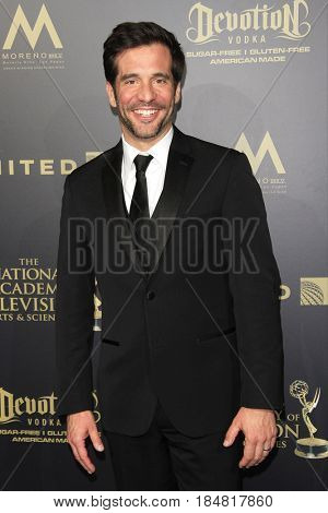 PASADENA - APR 28: JD Roberto at the 44th Daytime Creative Arts Emmy Awards Gala at the Pasadena Civic Center on April 28, 2017 in Pasadena, CA