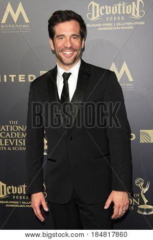PASADENA - APR 28: JD Roberto at the 44th Daytime Creative Arts Emmy Awards Gala at the Pasadena Civic Center on April 28, 2017 in Pasadena, CA