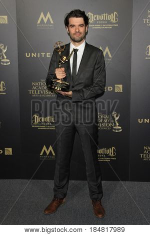 PASADENA - APR 28: Victor Maldonado at the 44th Daytime Creative Arts Emmy Awards Gala at the Pasadena Civic Center on April 28, 2017 in Pasadena, CA