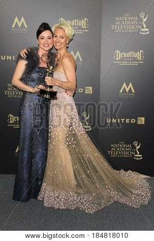 PASADENA - APR 28: Rene Brunson, Glenda Maddox at the 44th Daytime Creative Arts Emmy Awards Gala at the Pasadena Civic Center on April 28, 2017 in Pasadena, CA