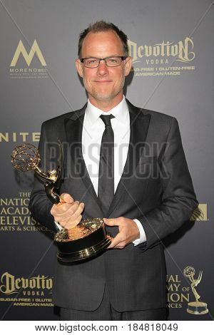 PASADENA - APR 28: John Chester at the 44th Daytime Creative Arts Emmy Awards Gala at the Pasadena Civic Center on April 28, 2017 in Pasadena, CA