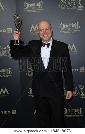 PASADENA - APR 28: Ray Thompson, Outstanding Lighting Direction for a Drama Series The Young and the Restless, 44th Daytime Creative Arts Emmy Awards Gala on April 28, 2017 in Pasadena, CA