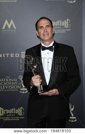 PASADENA - APR 28: William Roberts, Outstanding Lighting Direction for a Drama Series The Young and the Restless, 44th Daytime Creative Arts Emmy Awards Gala on April 28, 2017 in Pasadena, CA