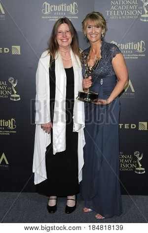 PASADENA - APR 28: Outstanding Multiple Camera Editing for a Drama Series, The Young and the Restless at the 44th Daytime Creative Arts Emmy Awards Gala on April 28, 2017 in Pasadena, CA