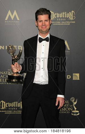PASADENA - APR 28: Nick Gotten, Outstanding Sound Mixing - Preschool Animated Program, Disney Sofia the First at the 44th Daytime Creative Arts Emmy Awards Gala on April 28, 2017 in Pasadena, CA