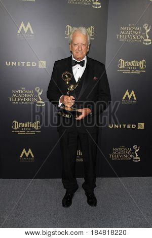 PASADENA - APR 28: Nicholas Coster at The 44th Daytime Creative Arts Emmy Awards Gala at the Pasadena Civic Center on April 28, 2017 in Pasadena, California