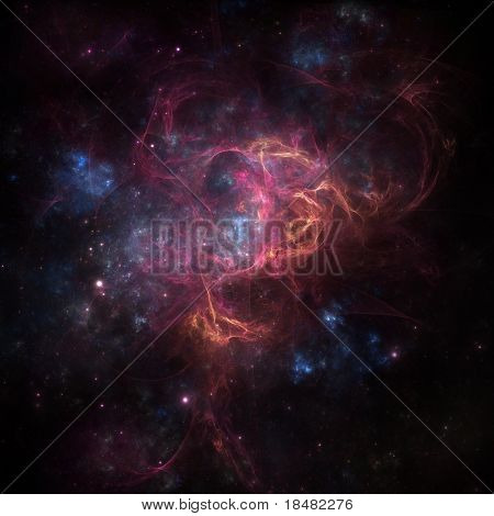 Deep Space-Nebel