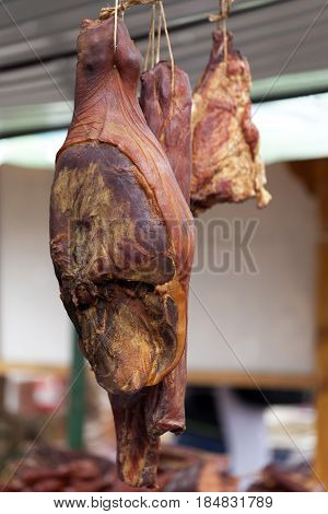 Home Made Smoked Ham