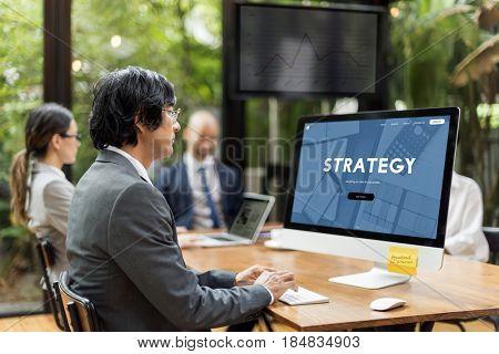 Strategy Plan Business Operation Development