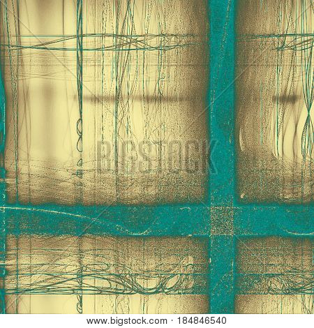 Retro design composition, grunge background or textured backdrop. With different color patterns: yellow (beige); brown; blue; gray; cyan