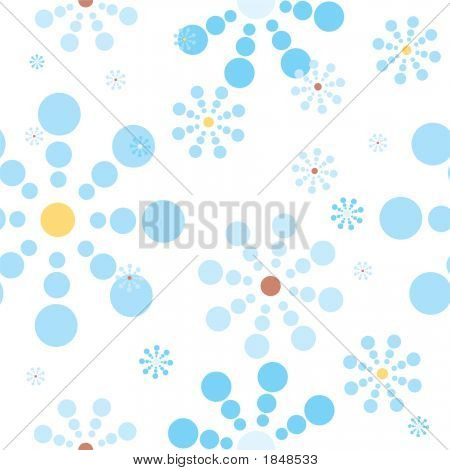 Snow Flake Blue