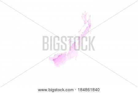 YG Y G Watercolor Letter Logo Design with Circular Shape and Pastel Pink Brush.