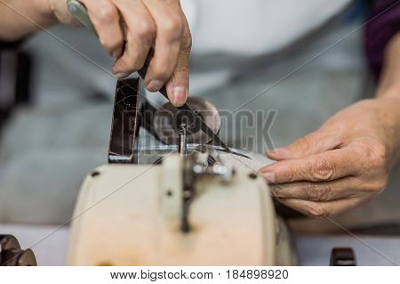 Processing of leather and fur  wool, process, background